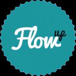 Flow-up-logo turkus